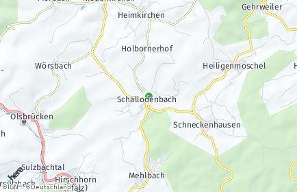 Stadtplan Schallodenbach