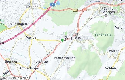 Stadtplan Schallstadt