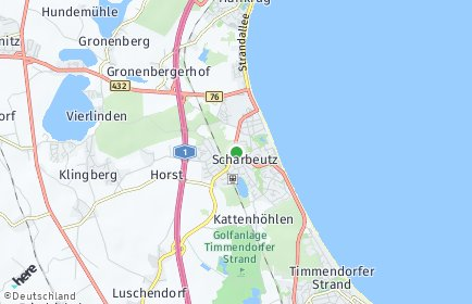 Stadtplan Scharbeutz