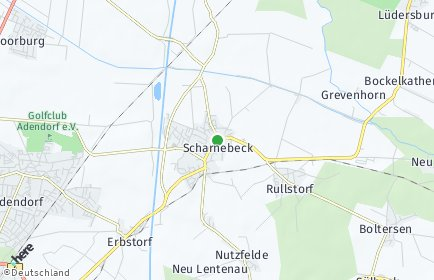 Stadtplan Scharnebeck