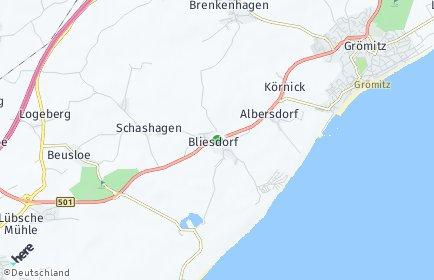 Stadtplan Schashagen