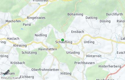 Stadtplan Schaufling