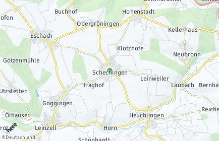 Stadtplan Schechingen