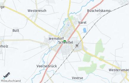 Stadtplan Scheeßel