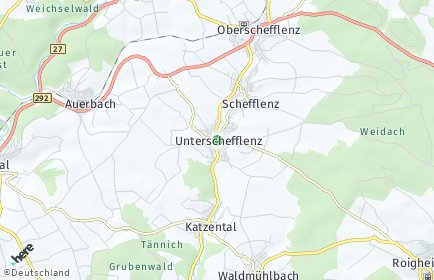 Stadtplan Schefflenz