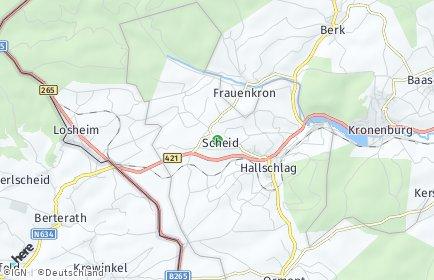 Stadtplan Scheid