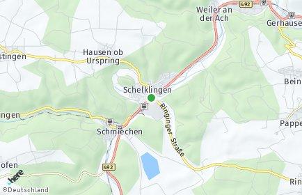 Stadtplan Schelklingen