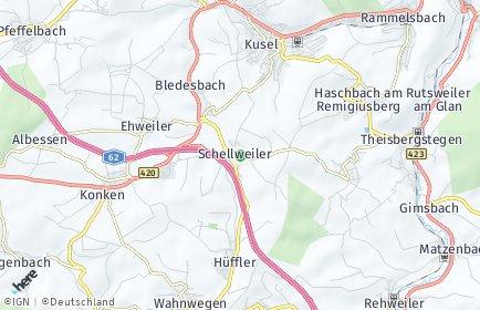 Stadtplan Schellweiler