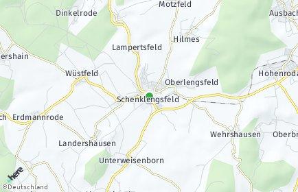 Stadtplan Schenklengsfeld