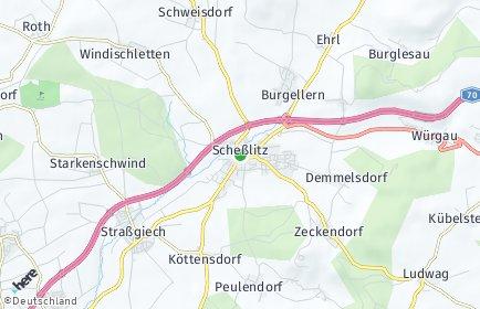 Stadtplan Scheßlitz