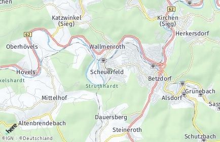 Stadtplan Scheuerfeld
