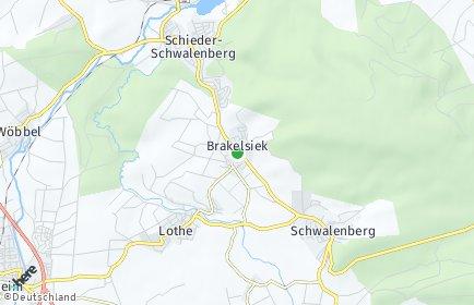Stadtplan Schieder-Schwalenberg
