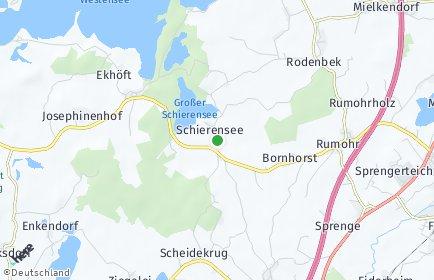 Stadtplan Schierensee