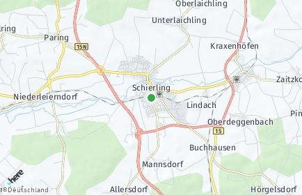 Stadtplan Schierling