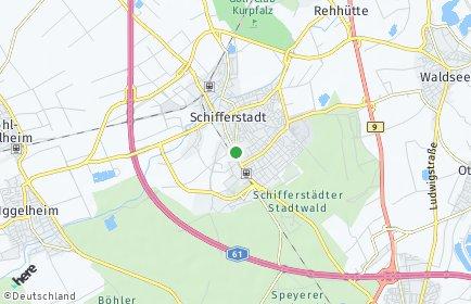 Stadtplan Schifferstadt