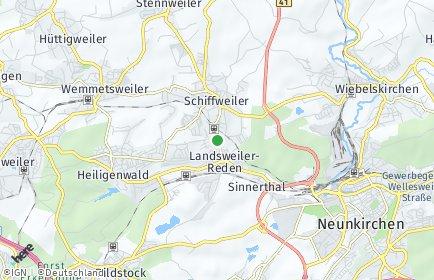 Stadtplan Schiffweiler