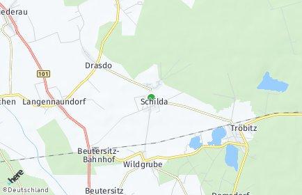 Stadtplan Schilda
