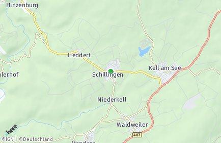 Stadtplan Schillingen