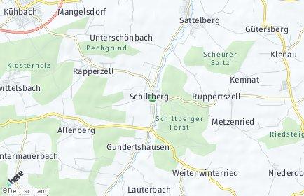 Stadtplan Schiltberg