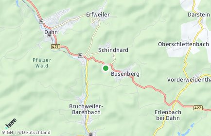 Stadtplan Schindhard