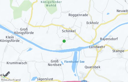 Stadtplan Schinkel