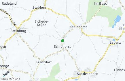 Stadtplan Schiphorst