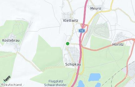 Stadtplan Schipkau