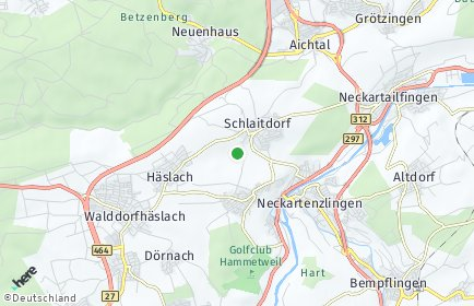 Stadtplan Schlaitdorf