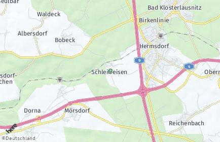 Stadtplan Schleifreisen