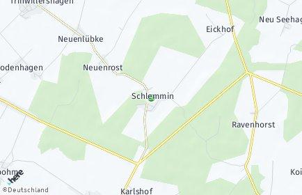 Stadtplan Schlemmin