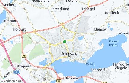Stadtplan Schleswig