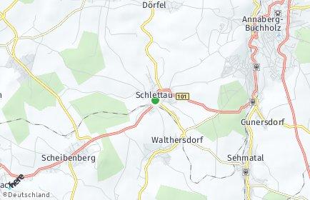 Stadtplan Schlettau