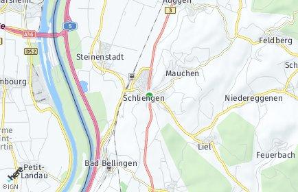 Stadtplan Schliengen