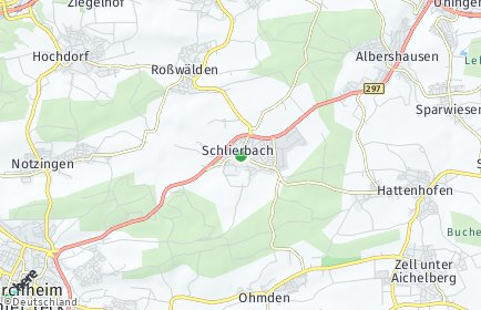 Stadtplan Schlierbach