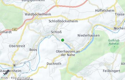 Stadtplan Schloßböckelheim