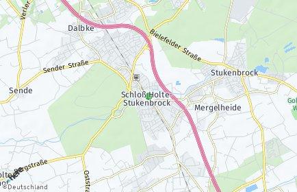 Stadtplan Schloß Holte-Stukenbrock