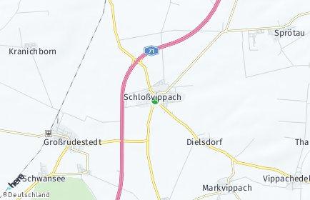 Stadtplan Schloßvippach