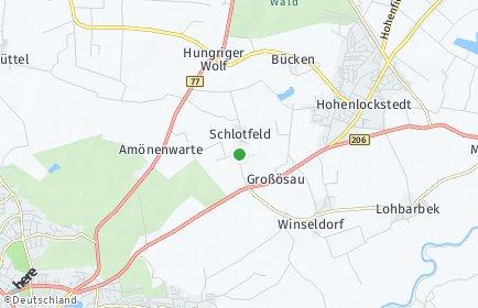 Stadtplan Schlotfeld
