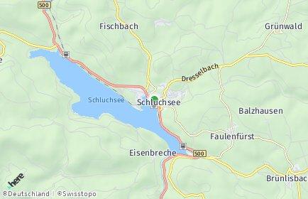 Stadtplan Schluchsee