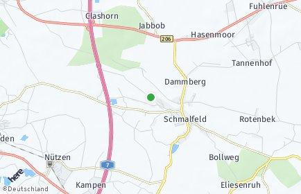 Stadtplan Schmalfeld