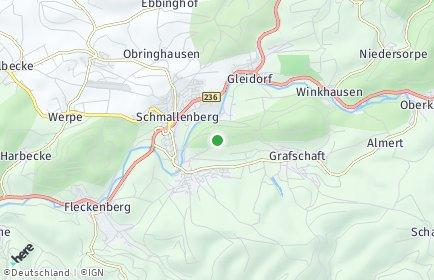 Stadtplan Schmallenberg