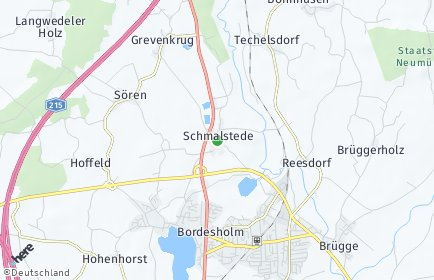 Stadtplan Schmalstede