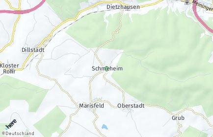 Stadtplan Schmeheim