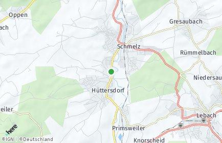 Stadtplan Schmelz (Saar)