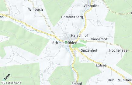 Stadtplan Schmidmühlen
