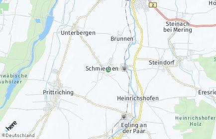 Stadtplan Schmiechen