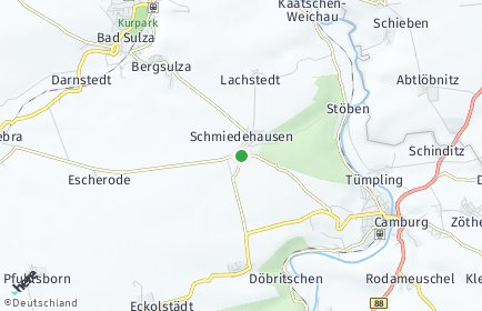 Stadtplan Schmiedehausen