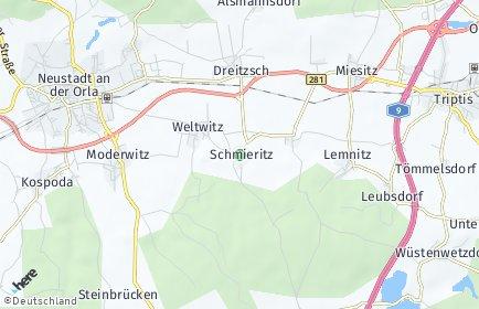 Stadtplan Schmieritz