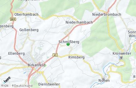 Stadtplan Schmißberg