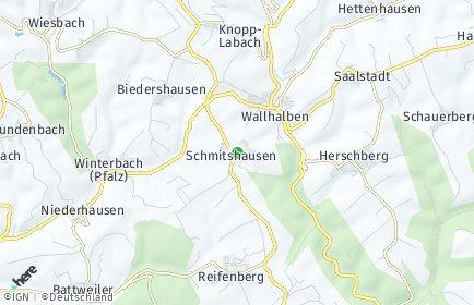 Stadtplan Schmitshausen